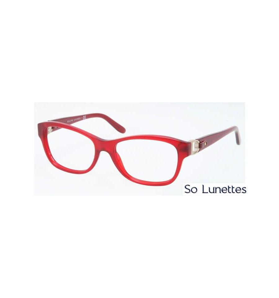 lunette de vue ralph lauren femme 0rl6113q 5458 monture rouge. Black Bedroom Furniture Sets. Home Design Ideas