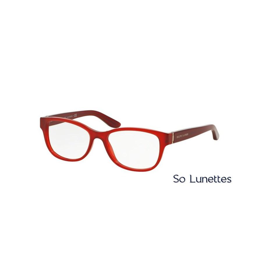 lunette de vue ralph lauren femme 0rl6138 5535 monture rouge. Black Bedroom Furniture Sets. Home Design Ideas