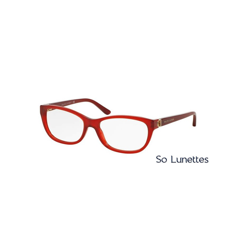 c62548c1349fc3 Lunette de vue Ralph Lauren 0RL6137 5535 Rouge
