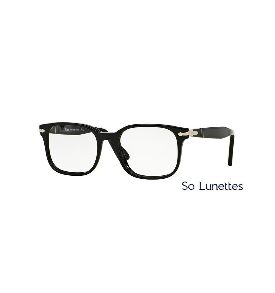lunette de vue persol homme 0po3118v 95 monture noir. Black Bedroom Furniture Sets. Home Design Ideas