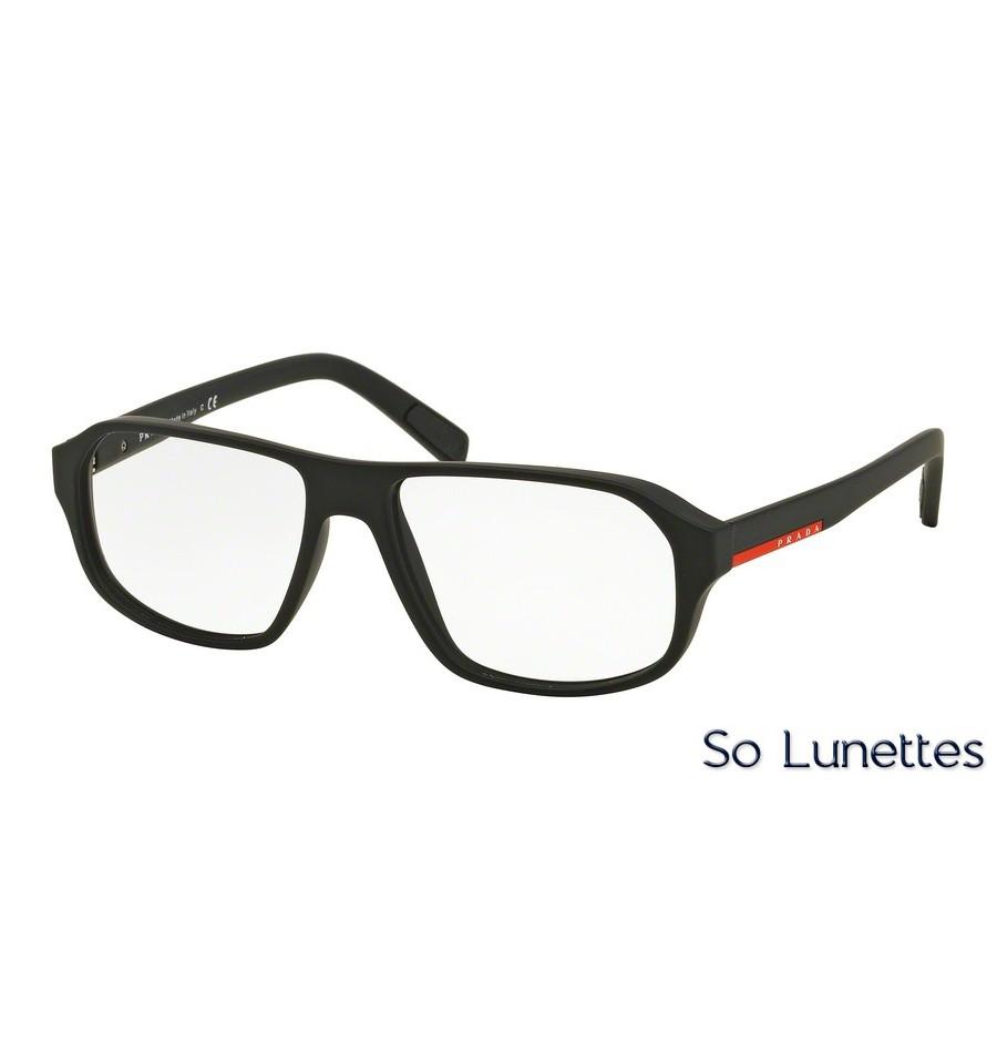 75a8f50402db8a Lunettes de vue Prada Linea Rossa homme PS 05GV DG01O1 monture noir