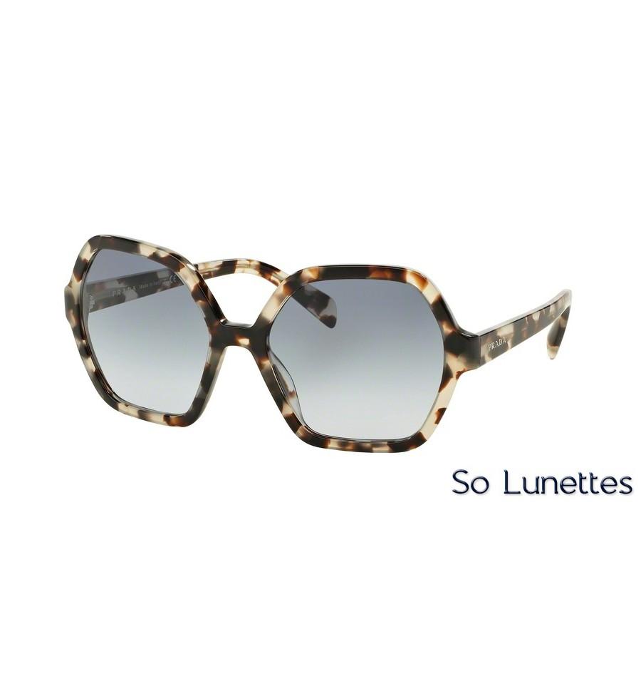 Soleil Lunettes De Uao4r2 Prada Pr Écaille Monture Verre Femme 06ss RLc54S3Ajq