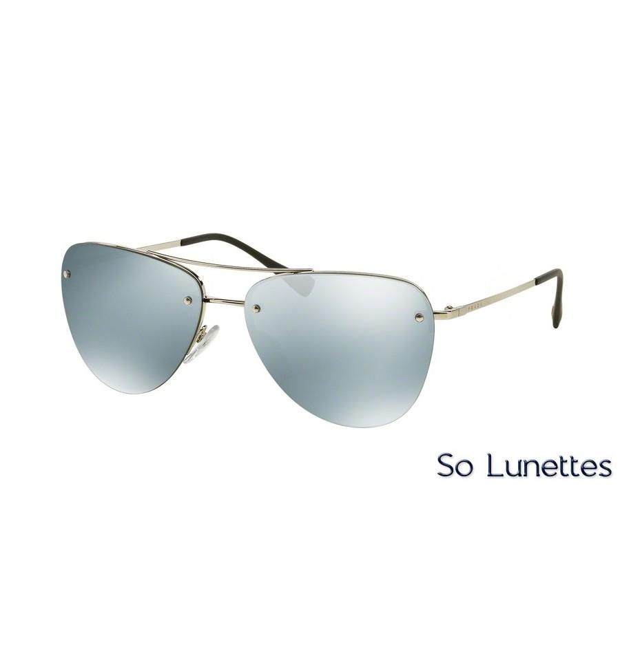 490c120981035 Lunettes de soleil Prada Linea Rossa femme PS 53RS 1BC5K2 monture ...