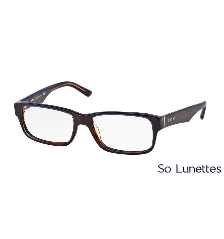 566852d4dd Lunettes de vue Prada homme PR 16MV ZXH1O1 monture bleu