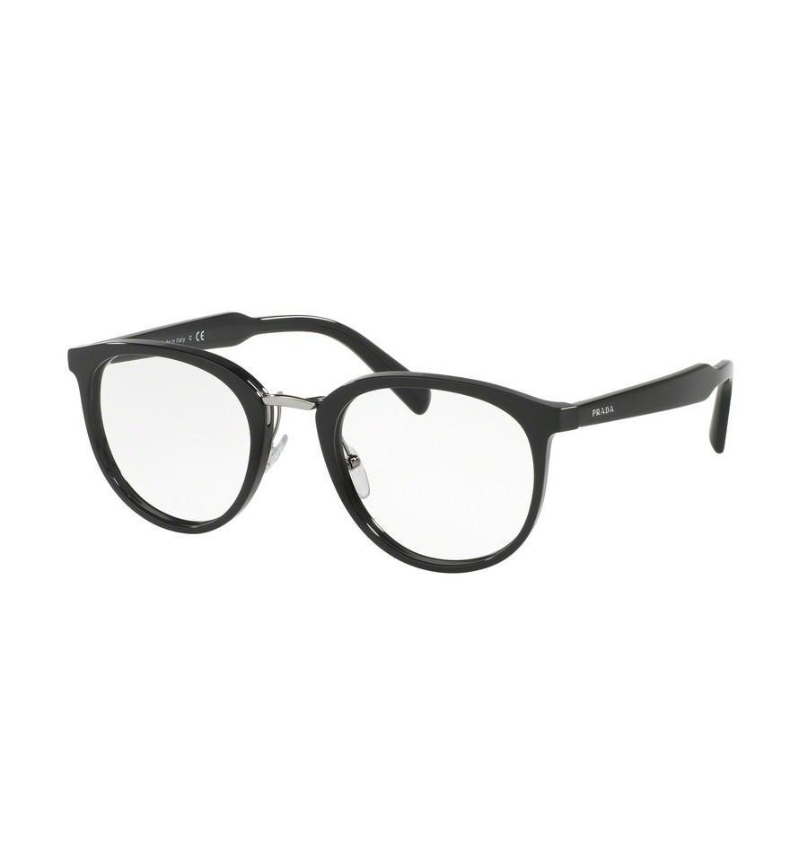 lunettes de vue prada homme pr 03tv 1ab1o1 monture noir. Black Bedroom Furniture Sets. Home Design Ideas
