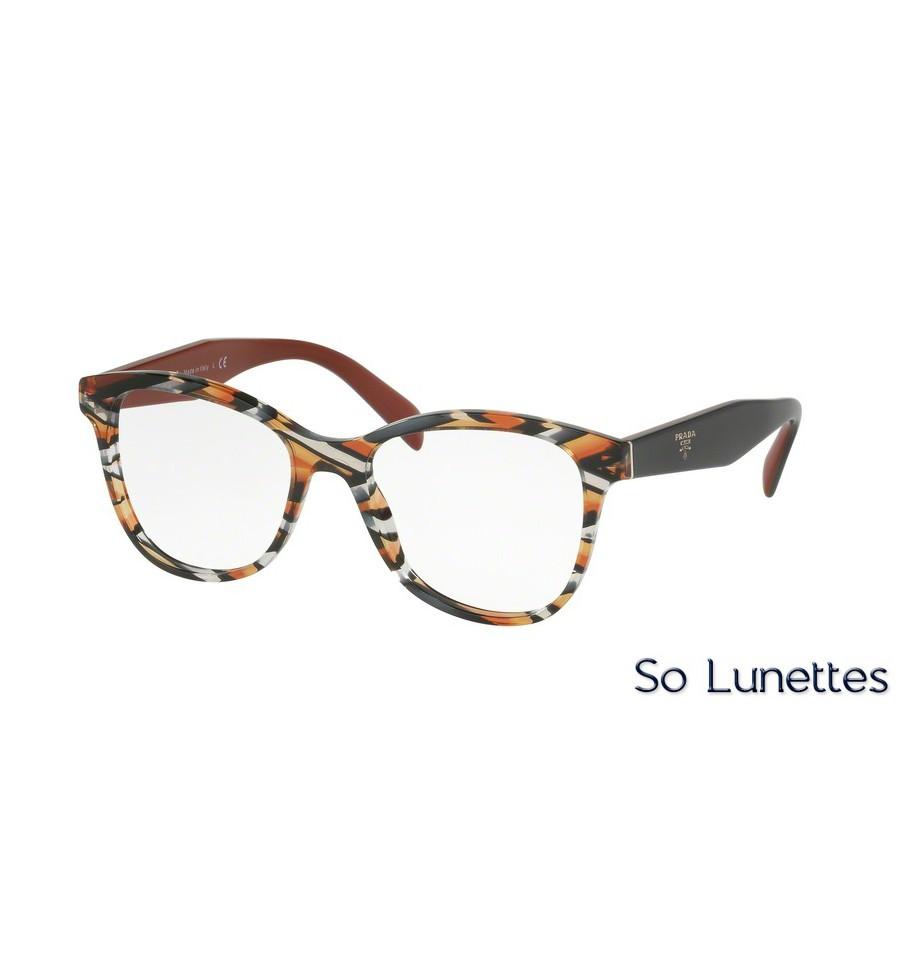 Lunettes de vue Prada femme PR 12TV VAN1O1 monture orange 90ce92c47f58