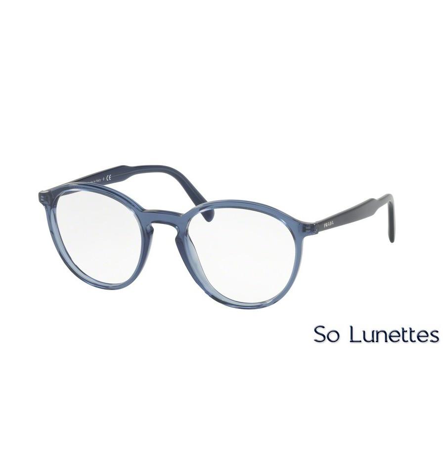 a991beabc0 Lunettes de vue Prada homme PR 13TV VAV1O1 monture bleu