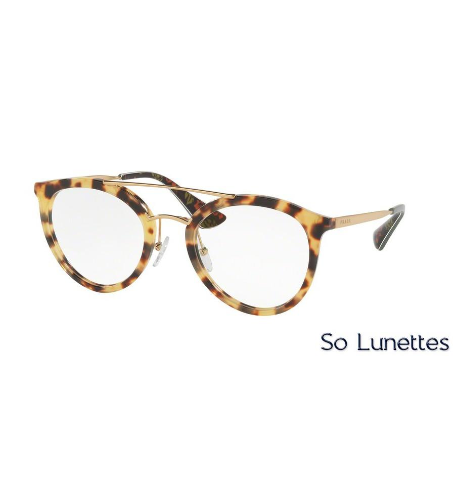 lunettes de vue prada femme pr 15tv 7s01o1 monture caille. Black Bedroom Furniture Sets. Home Design Ideas