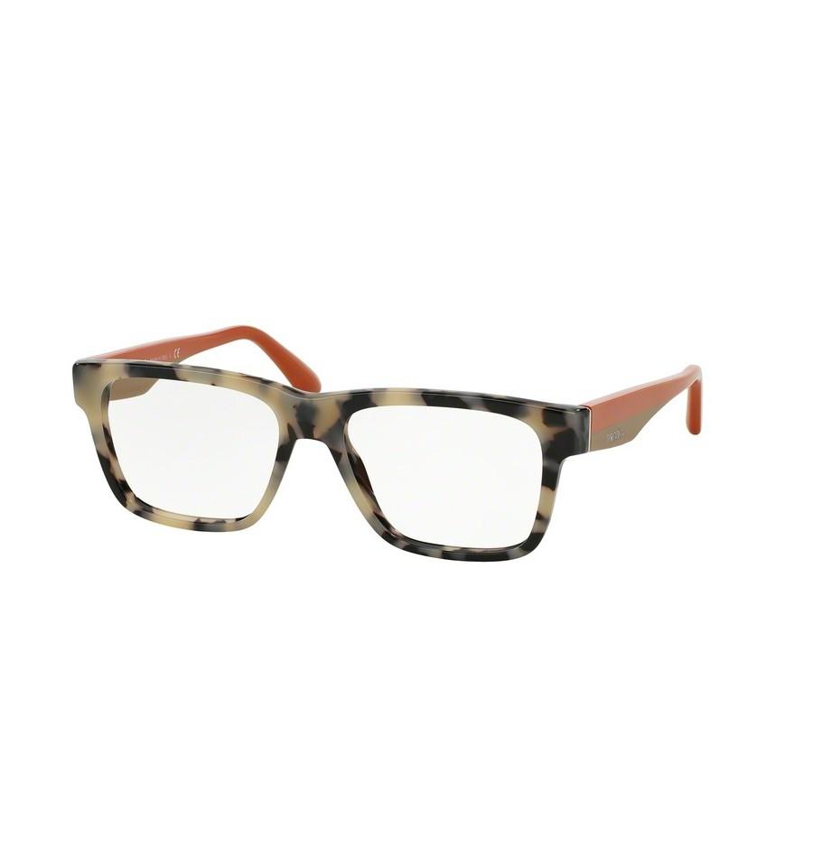 lunettes de vue prada femme pr 16rv kad1o1 monture caille. Black Bedroom Furniture Sets. Home Design Ideas