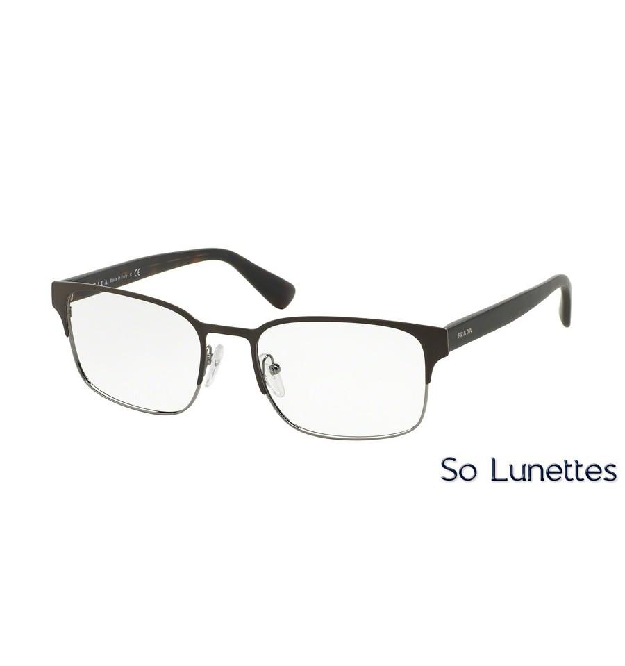 1fecf1a114a021 Lunettes de vue Prada homme PR 64RV LAH1O1 monture noir
