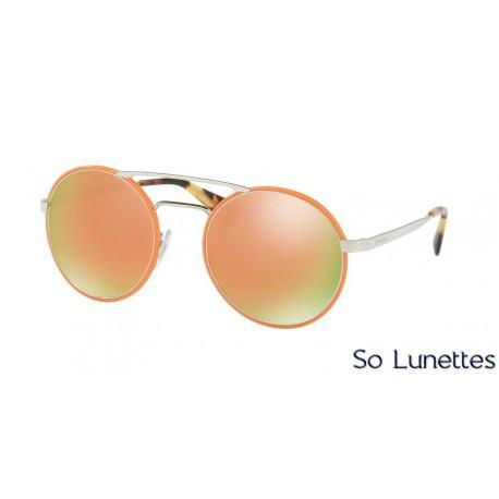 Lunettes de soleil Prada femme PR 51SS VHS2D2 orange