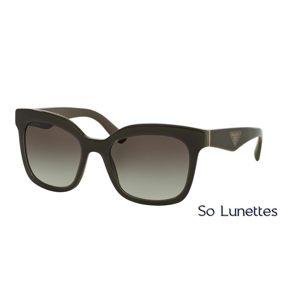 35ea72b75e Lunettes de soleil Prada femme PR 24QS UAM0A7 monture noir verre ...