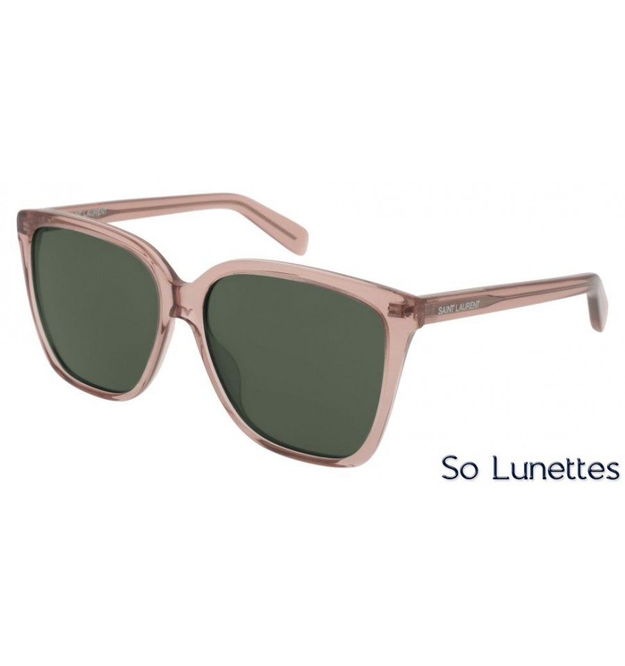 Saint Laurent SL 175 004 rose - So-Lunettes debc9b8fec93