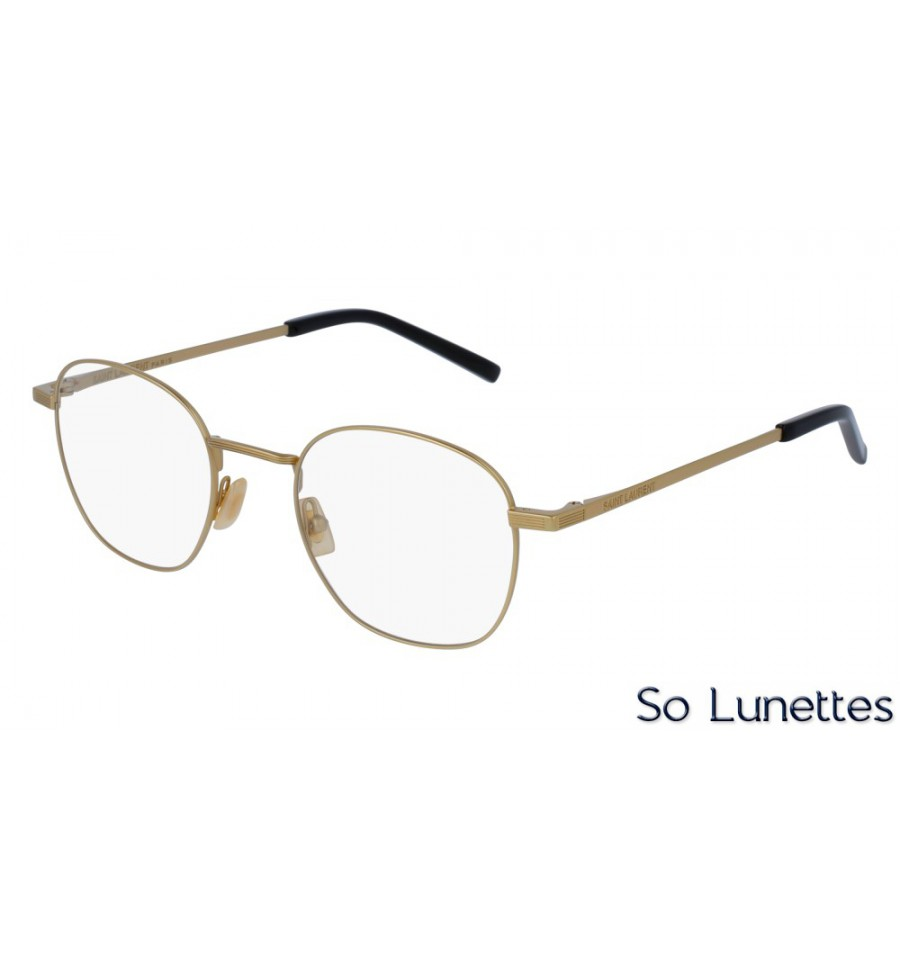 Saint Laurent SL 128 003 Or - So-Lunettes 5d09fb0edcfe