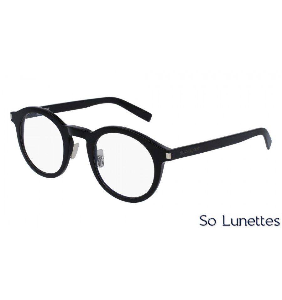 07f36e66fd066 Saint Laurent SL 140 SLIM 001 Noir - So-Lunettes
