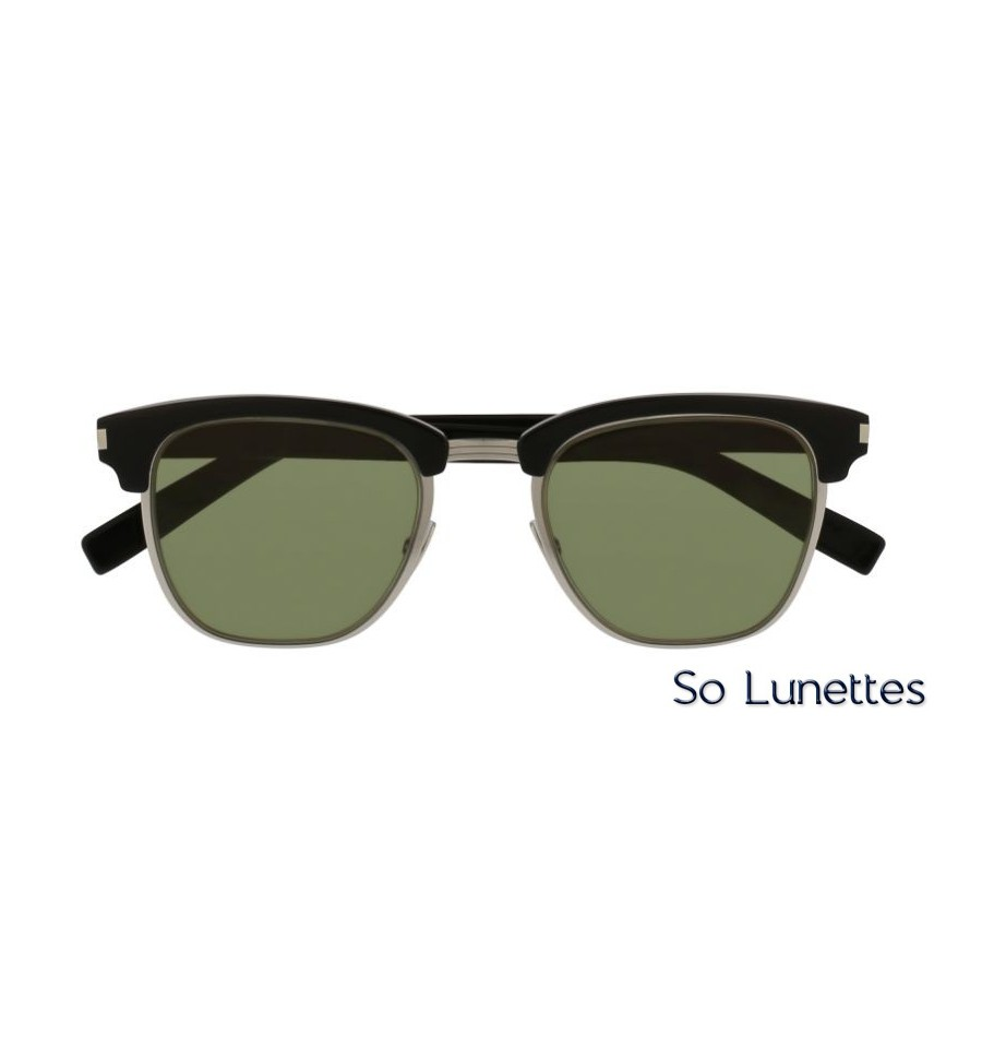 5721cf409732cf Saint Laurent SL 108 SLIM 003 noir - So-Lunettes