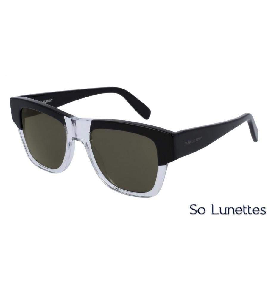 saint laurent sl 142 003 noir so lunettes. Black Bedroom Furniture Sets. Home Design Ideas