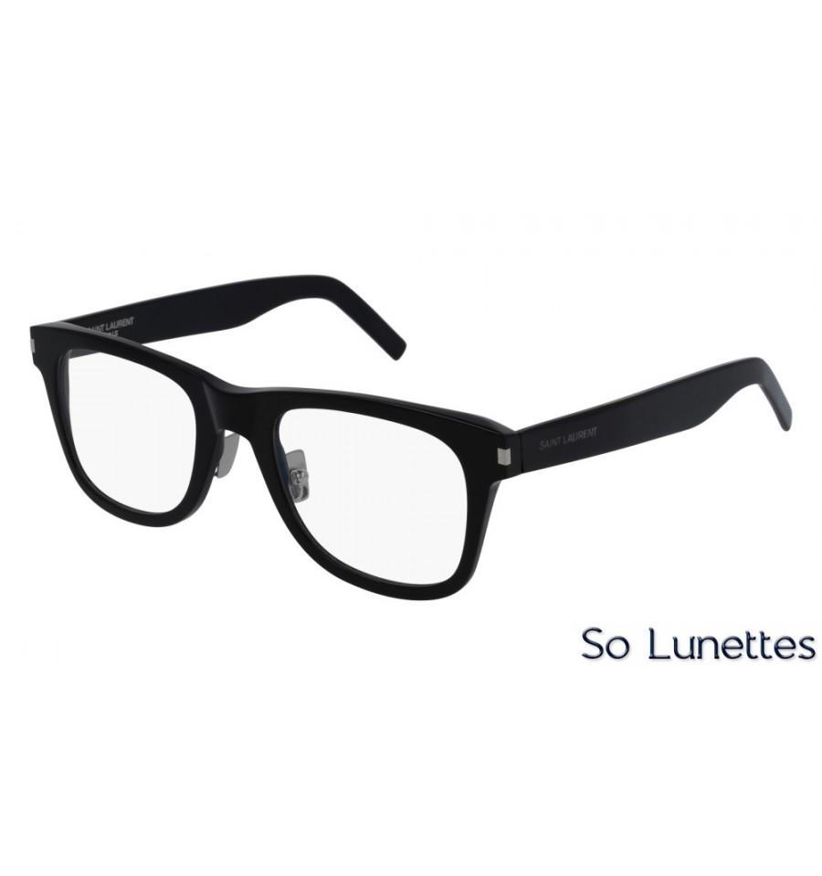 b88f8fd7508 Saint Laurent SL 50 F SLIM 001 Noir - So-Lunettes