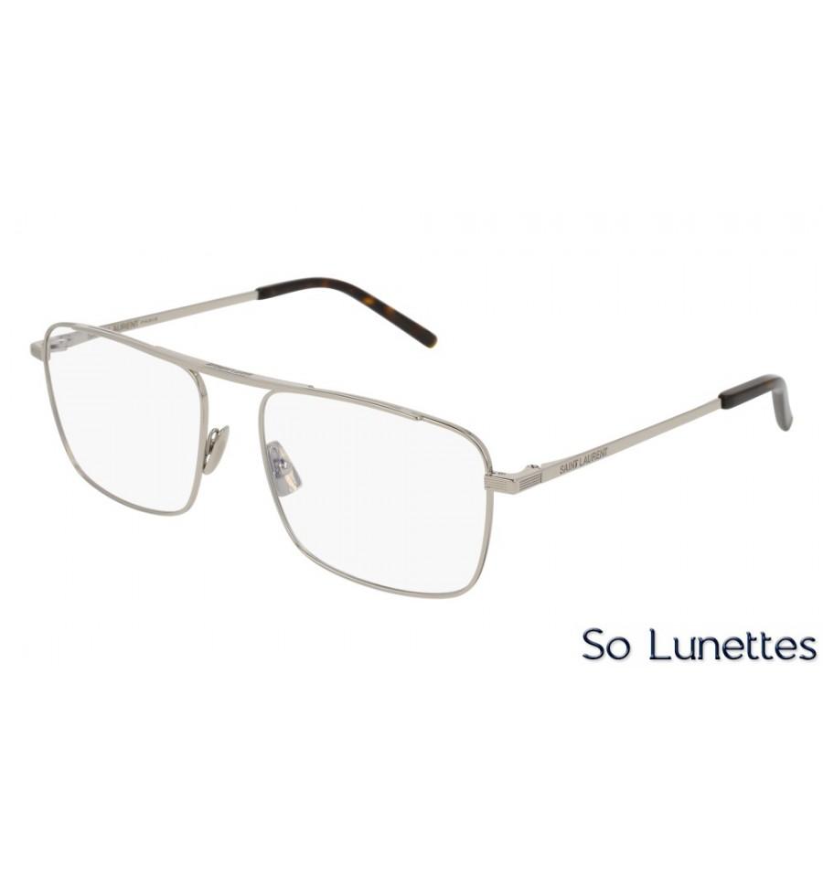 d94e0672ed7349 Saint Laurent SL 152 003 Argent - So-Lunettes