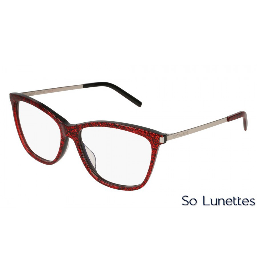 b8a3685029454 Saint Laurent SL 92 006 Rouge - So-Lunettes