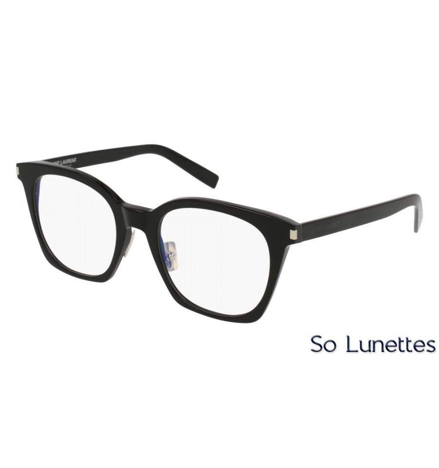 16cf8f10561 Saint Laurent SL 178 SLIM 001 Noir - So-Lunettes