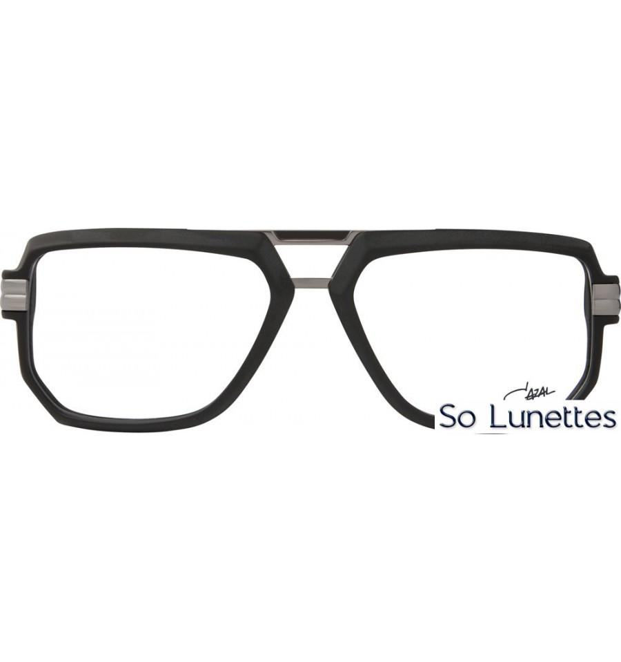 30c47ac7d7e807 Cazal 6013 002 Noir Mat Argent - So-Lunettes