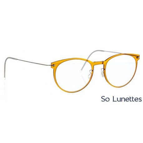 Lindberg 6517-C09-10-TBASIC Honey / Titanium temple