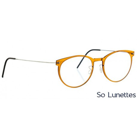 Lindberg 6517-C09-P10-T802 Trasparent Honey / Polished titanium temples