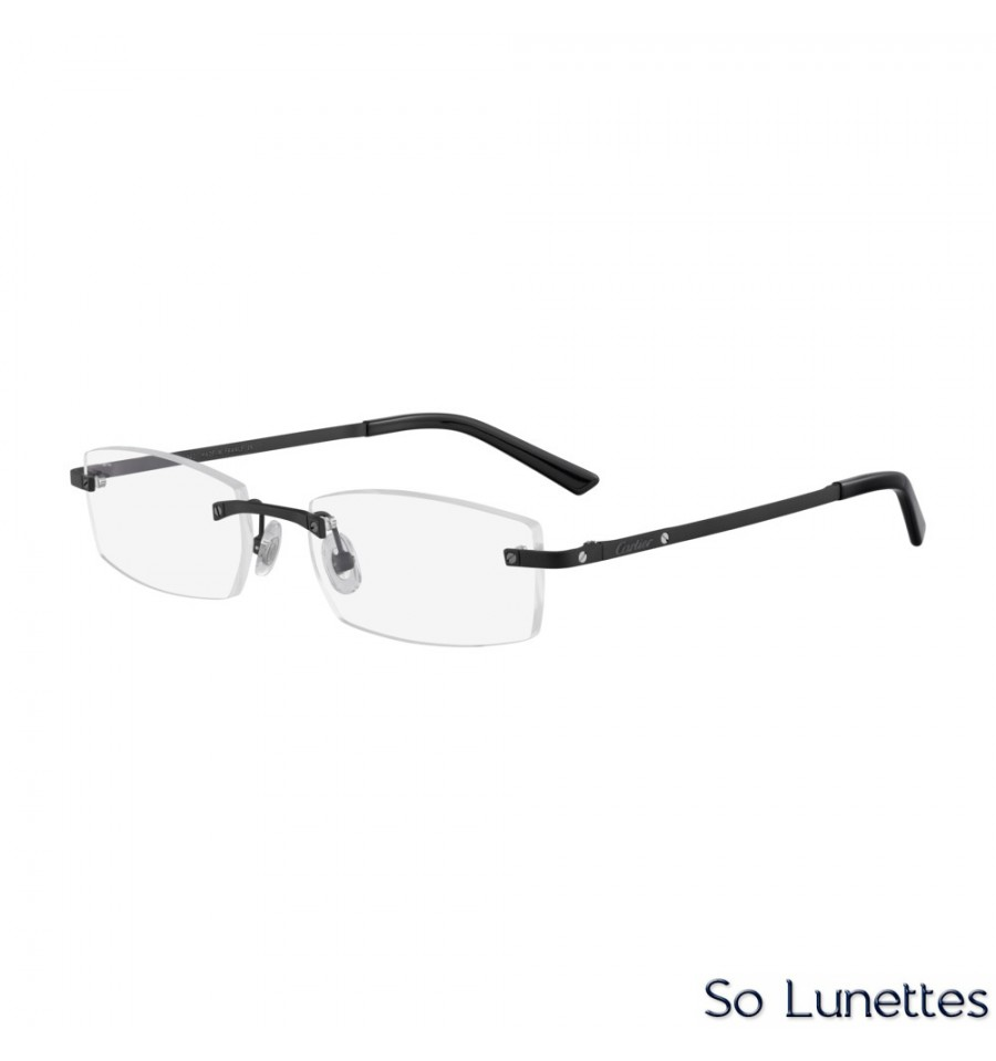 Cartier CT0087O 002 Noir - So-Lunettes bbff83631aaa