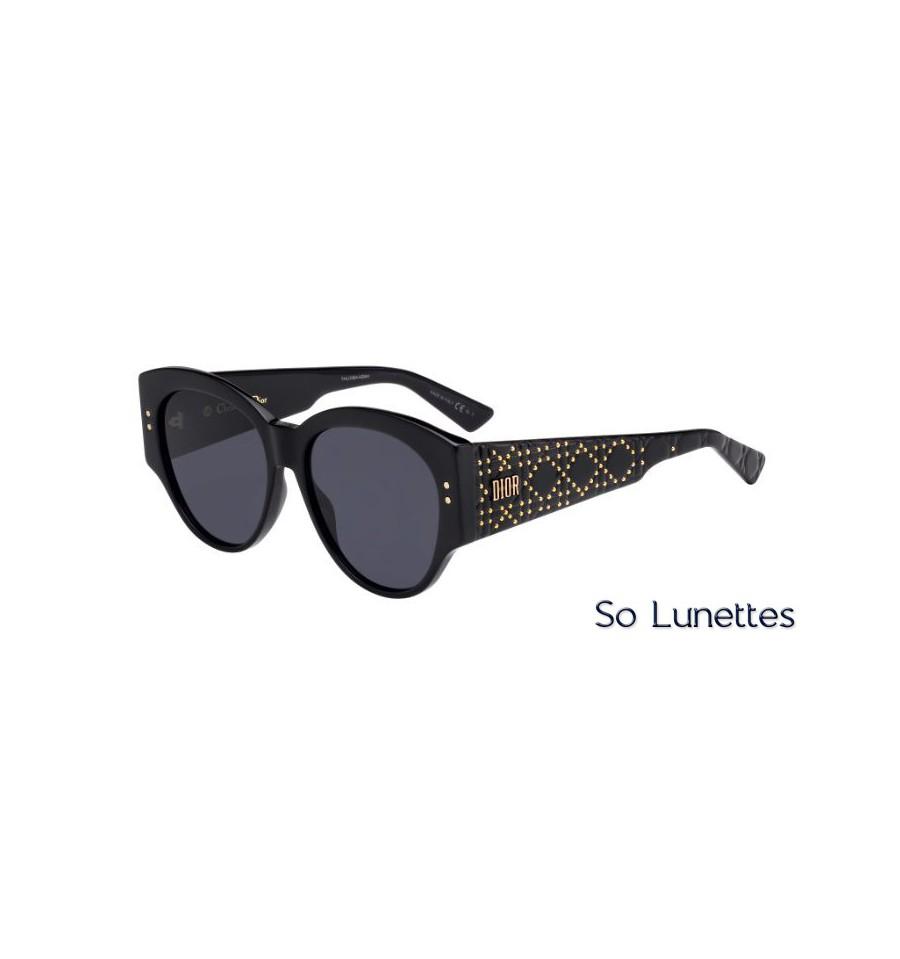 f259dde743 Dior LADYDIORSTUDS2 807 (2K) Noir - So-Lunettes