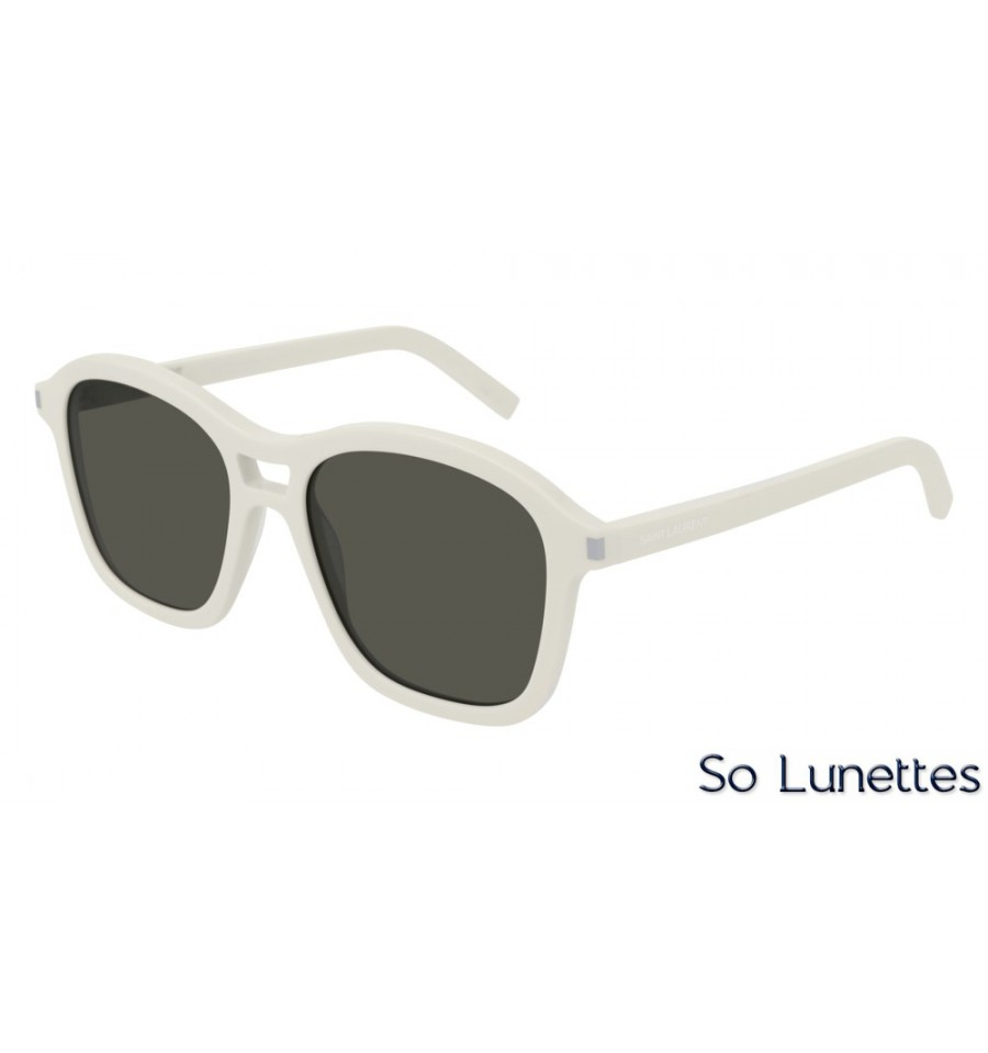 e939710c52881c Saint Laurent SL 258 003 Blanc - So-Lunettes