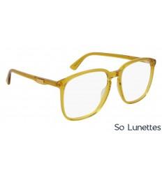 Lunettes de vue Gucci pas cher Garantie 1 an - So-Lunettes 928c10f4a66a