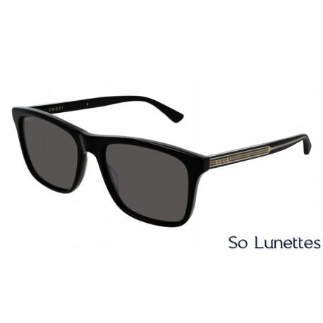 Gucci GG0381S 001 Noir - So-Lunettes 82343bed2910