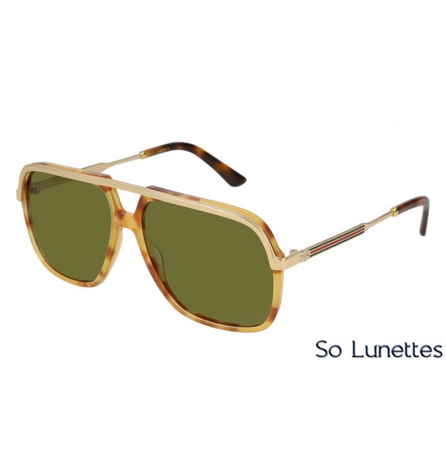 Gucci GG0200S 003 Ecaille - So-Lunettes 0fa4f7d3805b