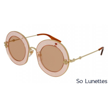 Gucci GG0113S 004 Rose/Or