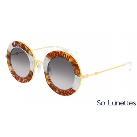 Gucci GG0113S 010 Ecaille/Or