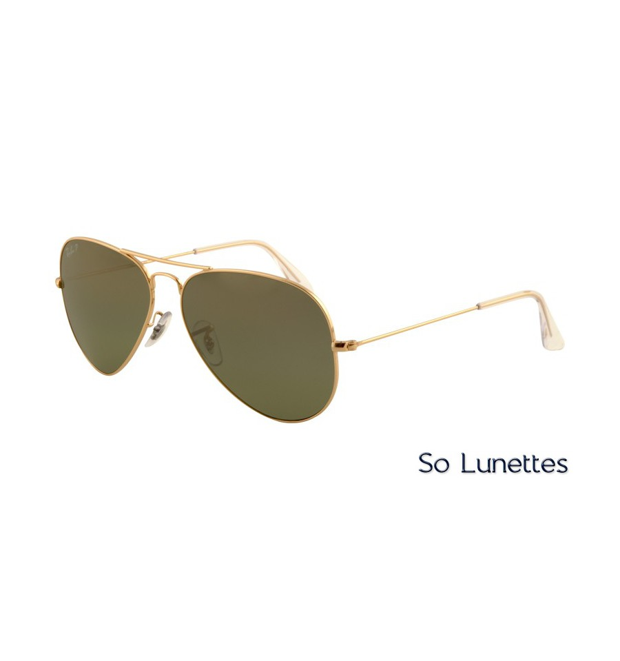 255856c529bc1 Ray-Ban RB3025 001 M4 (Aviator Large Métal) - So-Lunettes