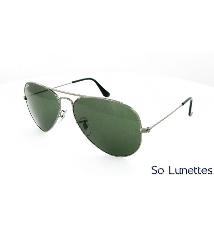 a7bb395a7ce01 Ray-Ban RB3025 W0879 (Aviator Large Métal) - So-Lunettes