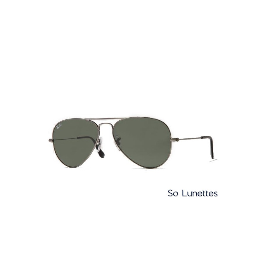 Ray-Ban RB3025 W3236 (Aviator Large Métal) - So-Lunettes 98c1cace8c41