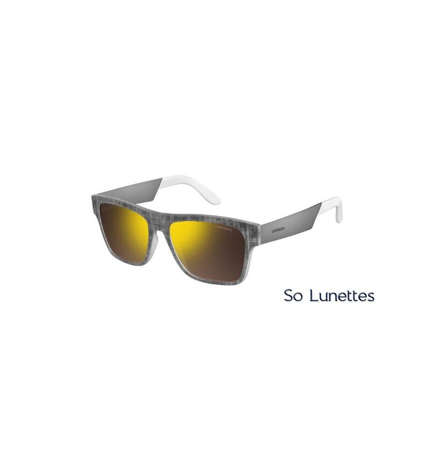 d3aac9b6a5 Lunettes de soleil CARRERA Homme 5002/TX FTX (SQ) monture gris et blanc