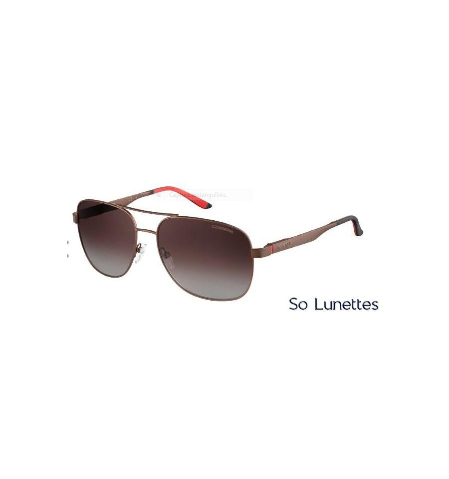 Lunettes de soleil Carrera Homme 8015 S NLX(LA) monture marron ... 0574806eb937