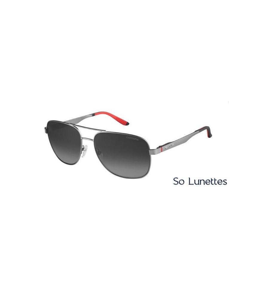 Lunettes de soleil Carrera Homme 8015 S R80 (9O) monture Ruthénium ... 33a9830048c7