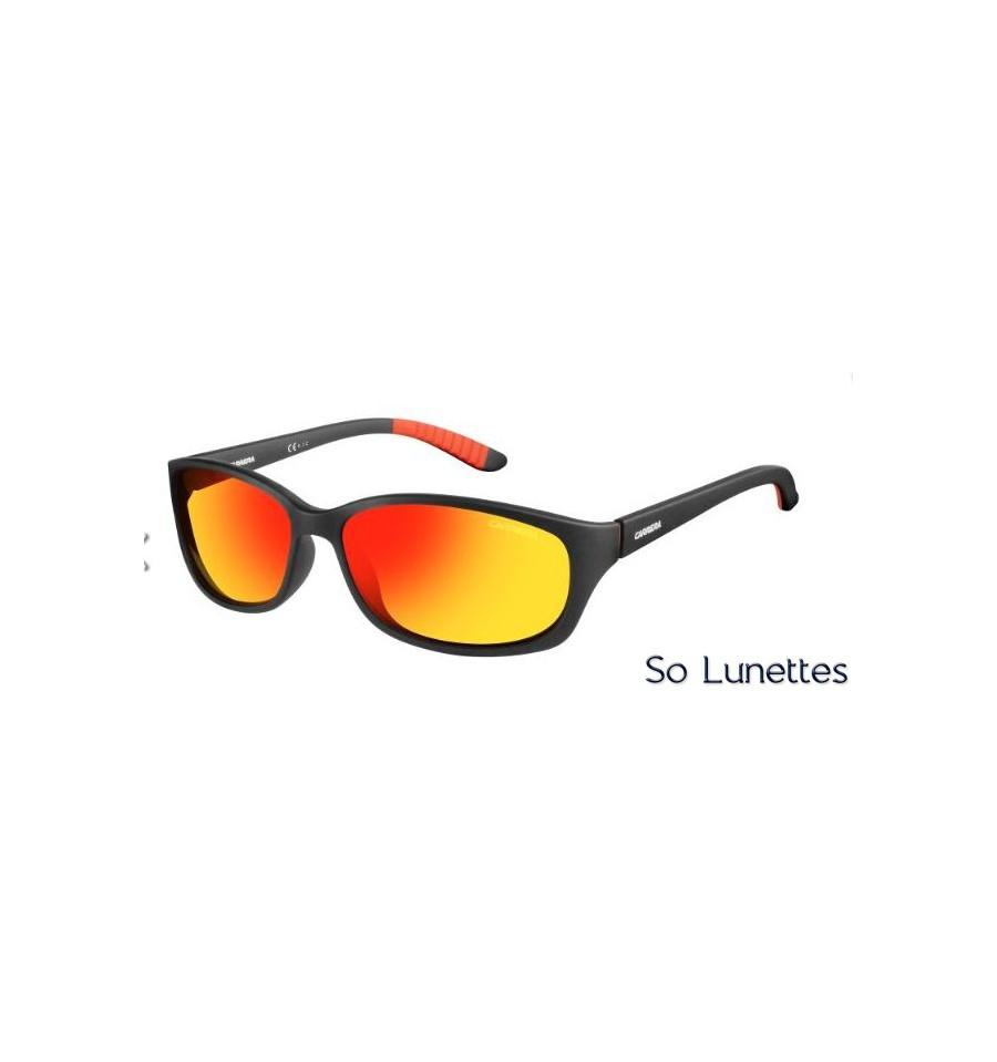 3edcbfeb7e4611 Lunettes de soleil Carrera Homme 8016 S DL5 (UZ) monture noire mate ...