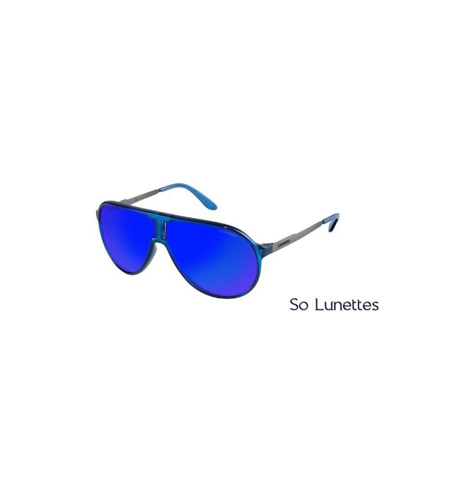 03720bbb0b7d27 Lunettes de soleil Carrera Homme NEW CHAMPION L 8FS (Z0) ruthénium bleu