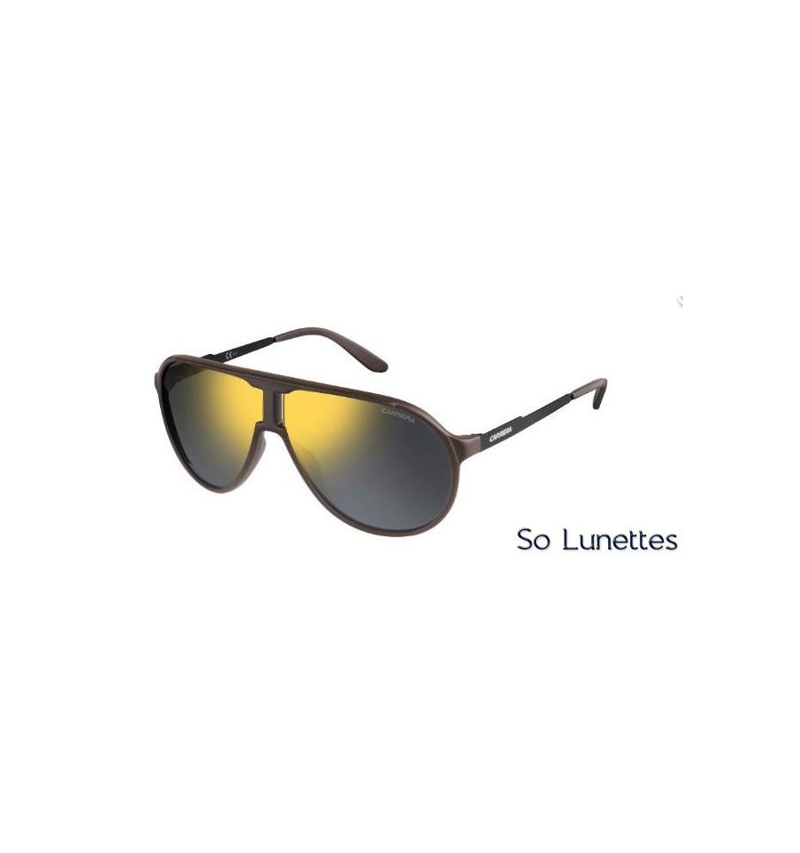Lunettes de soleil Carrera Homme NEW CHAMPION L 8H7 (MV) noires marron f38b20dabe57