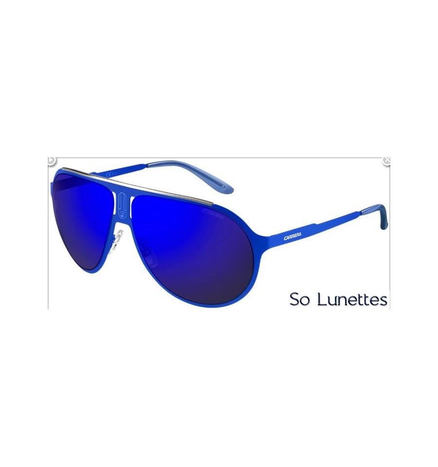 Lunettes de soleil Carrera CHAMPION MT 6VX (XT) monture bleue mate ... e47056943e25
