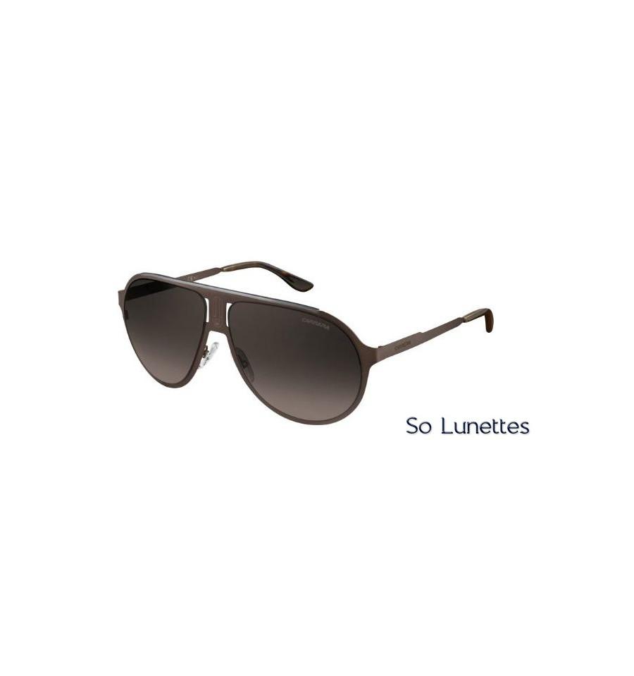 Lunettes de soleil Carrera CHAMPION MT PVC (HA) monture marron mat ... 1424e0ae14c7