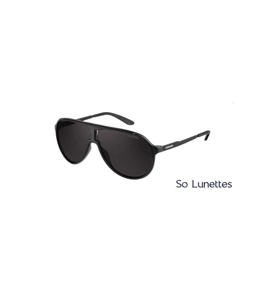 9719e5d9ac Lunettes de soleil Carrera NEW CHAMPION GUY (NR) monture noire ...