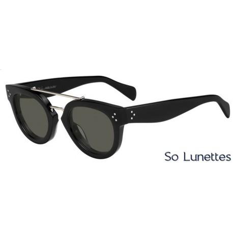Lunettes de soleil Céline CL 41043/S 807 (1E) noires