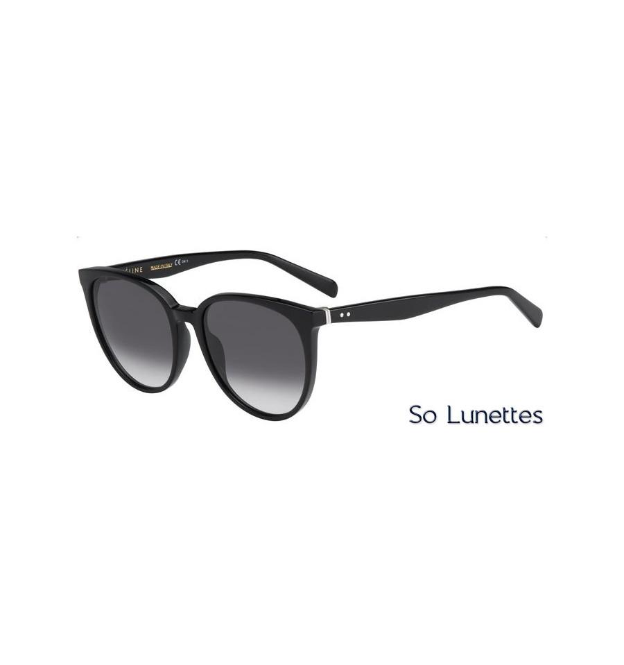 Lunettes de soleil Céline Femme CL 41068 S 807 (W2) monture noire ... 10c08eec3903